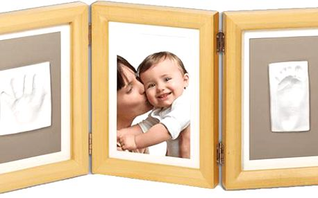 Baby Art Rámeček Double Print Frame Natural