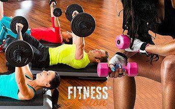 Měsíční členství do posilovny FitnessAction