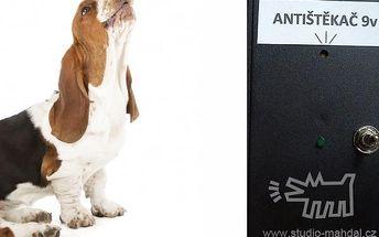 Antištěkač - bezbolestná metoda pro odnaučení štěkání ultrazvukovými impulzy, poštovné zdarma.