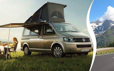 Zapůjčení obytného vozu Volkswagen California