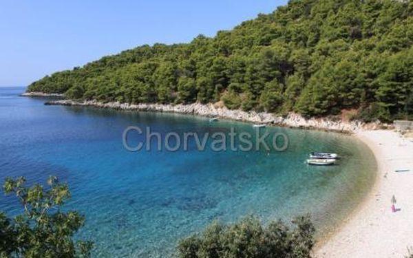 Chorvatsko, oblast Hvar, doprava vlastní, bez stravy na 8 dní