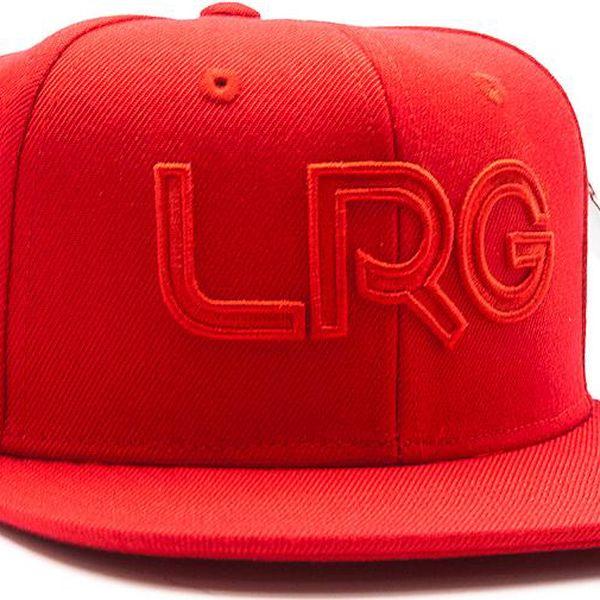 Kšiltovka LRG Branded Red Snapback