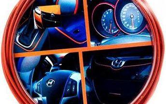 Samolepící ozdobná lišta do auta - 2 barvy, 5 metrů
