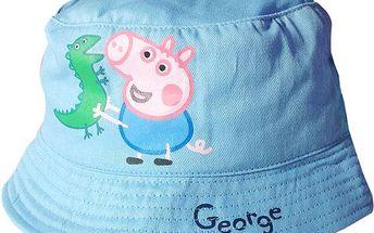 Chlapecký světle modrý klobouček s Tomíkem