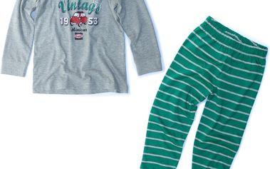 Chlapecké pruhované pyžamo