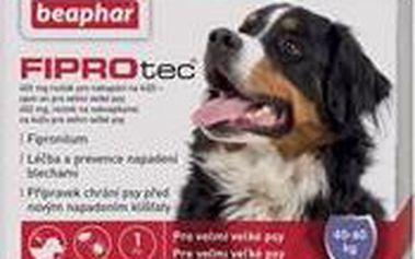 Spot on Fiprotec pro psy XL 40-60kg antiparazitní přípravek proti klíšťatům a blechám pro psy