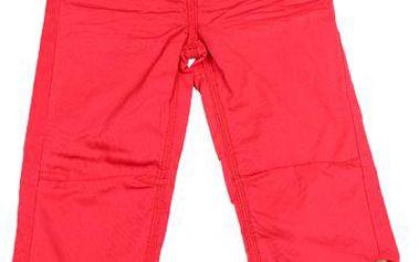 Dívčí capri kalhoty - červené