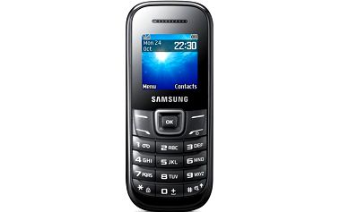Samsung E1200R Black (GT-E1200ZKRETL)