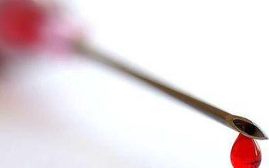 Vyšetření kapky krve pod mikroskopem + F-Scan