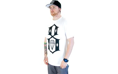 Triko Rebel8 Logo White