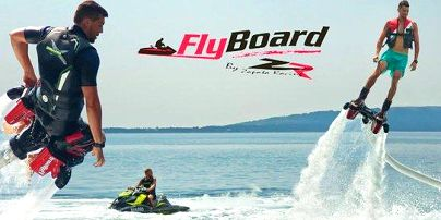 Flyboarding Plzeň