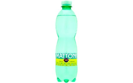 Mattoni Mattoni Perlivá s příchutí citronu 0,5l