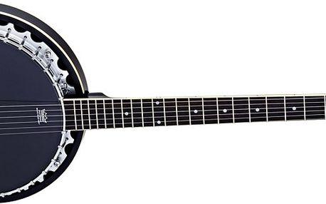 Šestistrunné banjo Ortega OBJ350/6-SBK