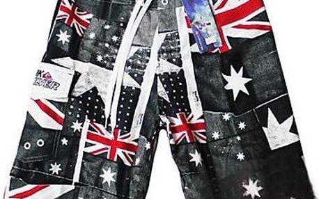 Australské koupací kraťasy