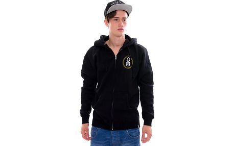 Mikina s kapucí Rebel8 Perch Of Death Zip-Up Hoody Black