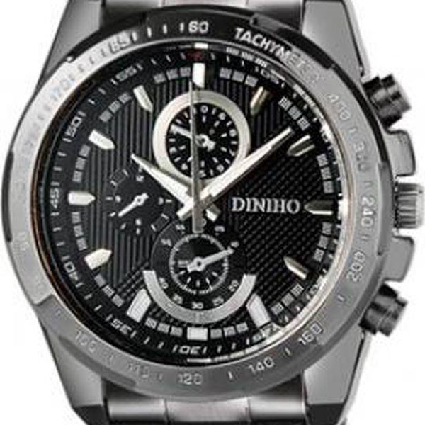 Pánské kovové hodinky Diniho - 2 barevné provedení ciferníku