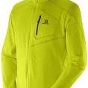 Salomon Discovery FZ Midlayer M Gecko Green, zelená, XL