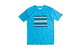 Quiksilver Classic Tee Lines Norse Blue