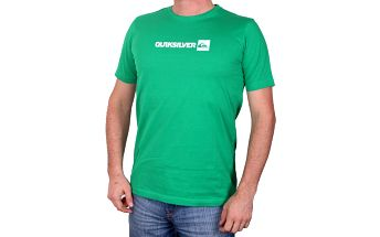 Quiksilver SS Basic Tee Logo Youth Green