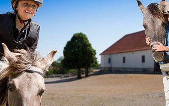 Letní příměstský tábor s koňmi na Šťastném ranči