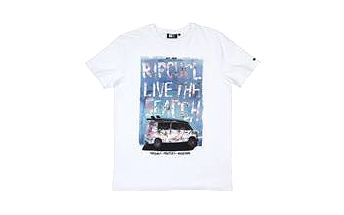 Rip Curl Brash Surf Car Tee Optical White M