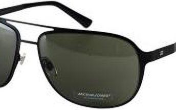 Jack & Jones - Sluneční brýle Space - tmavohnedý, ONE - 200 Kč na první nákup za odběr newsletteru