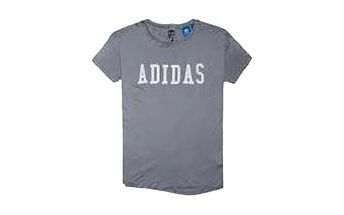Adidas originals LDN P BK Tee Grey/Multc, šedá, 36