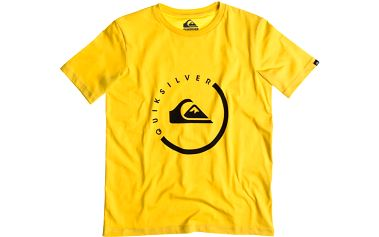 Quiksilver Classic Tee Youth Everyday Activ Lemon Zest, žlutá, 128