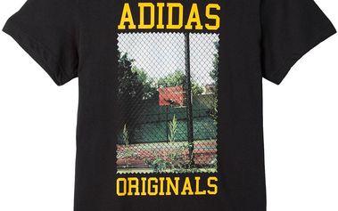 Adidas originals Court Photo Tee Black, černá, L