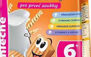 Chutné a výživné dětské sušenky 2x175g