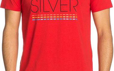 Quiksilver SS Bright C4 Červené, červená, L
