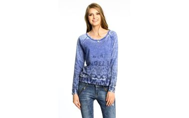 Guess Jeans - Mikina Placed Storm Animali