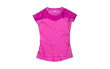Roxy Double Time SS Fuchsia Red