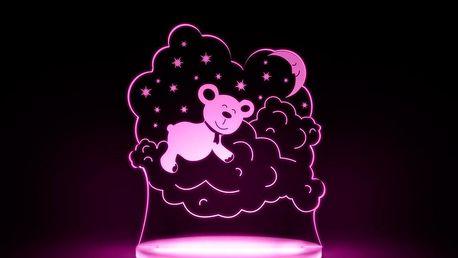 Dětské LED noční světýlko Aloka Bear - doprava zdarma!