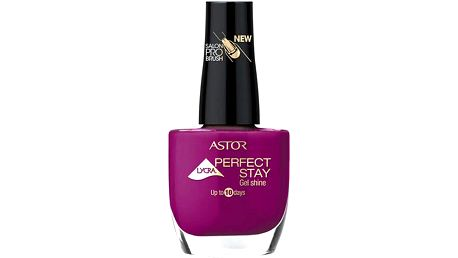 Lak na nehty Astor Perfect Stay Gel Shine Odstín 310 Scandalous Red