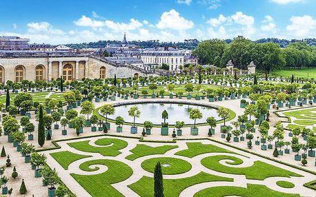 4denní zájezd do Paříže s prohlídkou Versailles a ubytováním v hotelu pro 1 osobu