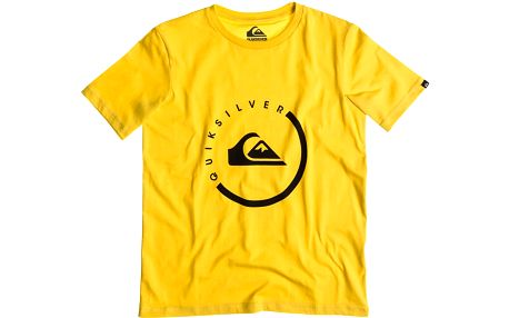 Quiksilver Classic Tee Youth Everyday Activ Lemon Zest, žlutá, 128