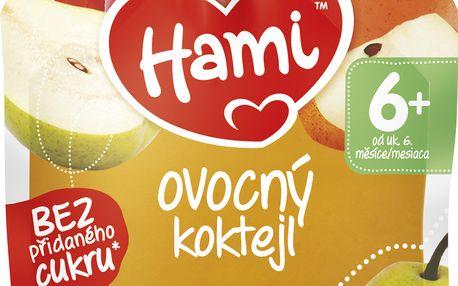 Hami ovocná kapsička Ovocný koktejl 90g
