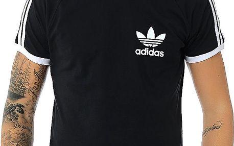 Adidas originals Sport Ess Tee Black, černá, M