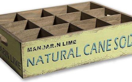 Dřevěná bedna Cane Soda