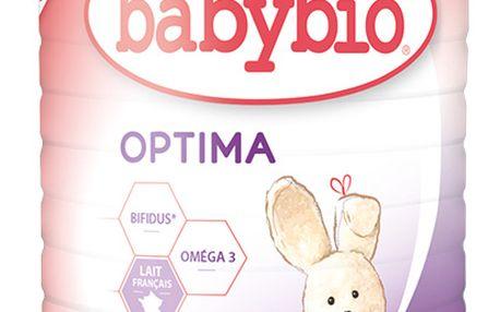 BABYBIO Optima 1 počáteční mléčná kojenecká výživa v prášku