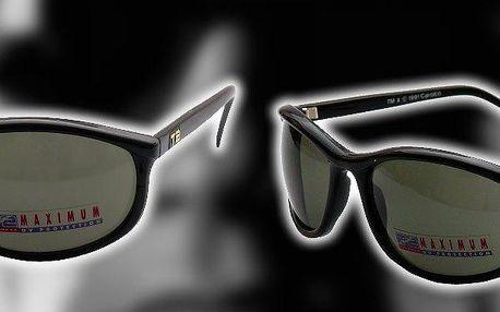 Sluneční brýle Terminátor, černé, drsňácké brýle s UV filtrem! Skvěle kryjí před sluncem i ze stran.