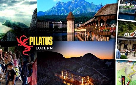 Zájezd do Švýcarska pro jednoho. Čokoláda, sýry, vyspělá ekonomika alpská příroda a hora Pilatus!!