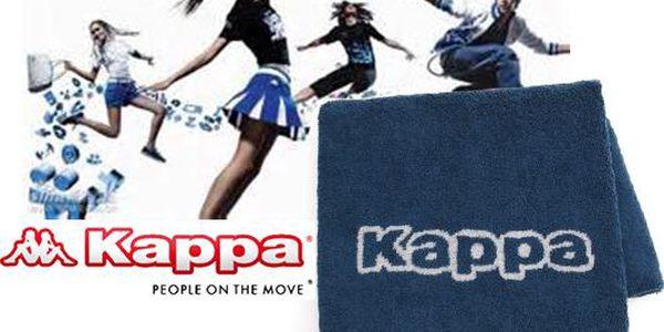 Ručník Kappa, velký, modrý
