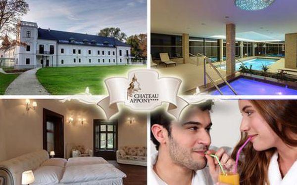 Odpočinek a wellness pro 2 osoby v Château Appony****
