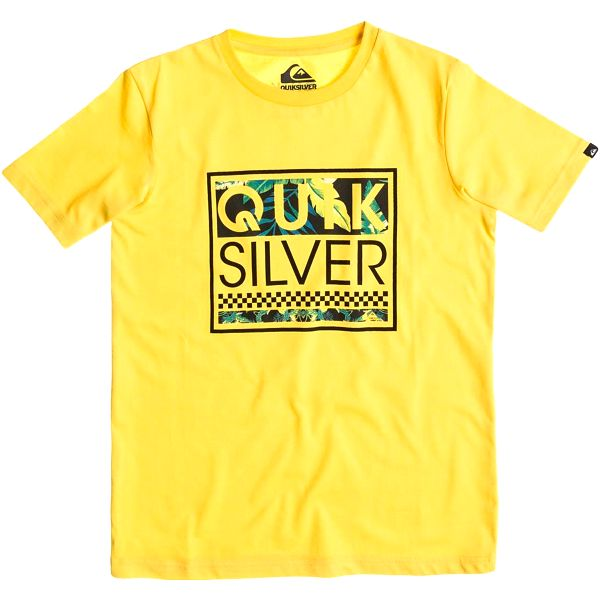 Quiksilver Classic Tee Youth A24 Lemon Zest, žlutá, 170