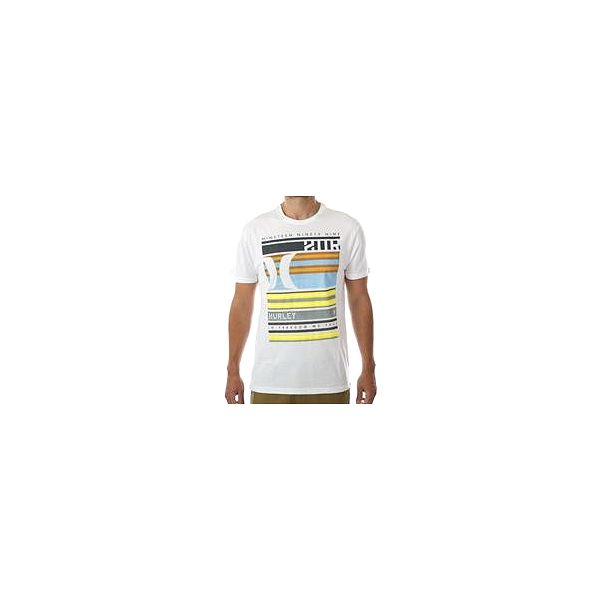 Hurley Blocked Warp White