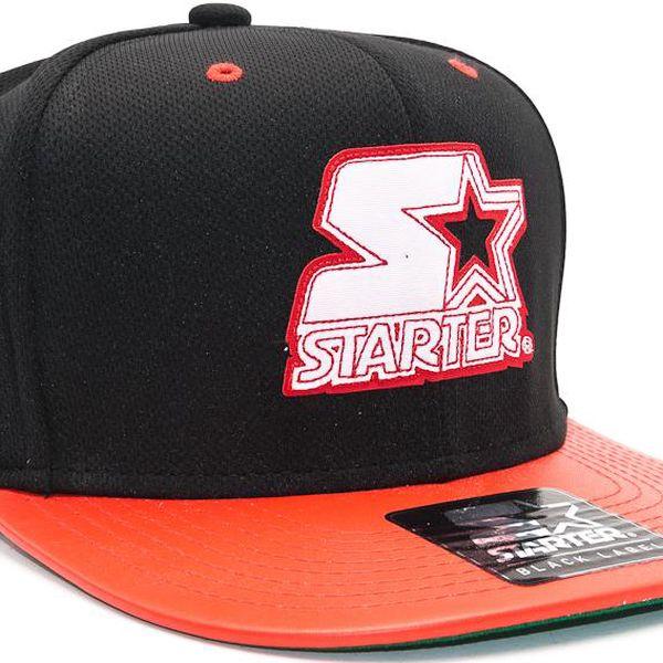 Kšiltovka Starter Crossover Black/Red Snapback
