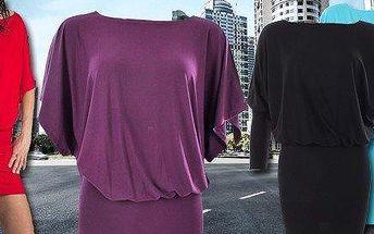 Atraktivní dámské šaty – 7 barev