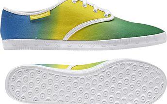 Adidas originals Adria PS WC W Modré/Žluté/Zelené, zelená, 39,5